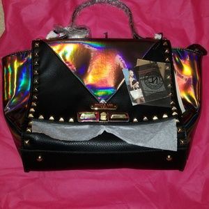 ❤SOLD❤ Black Sian Hologram Purse